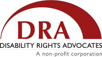 Disability Rights Advocates logo.